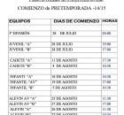COMIENZO DE PRETEMPORADA-01
