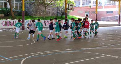 Segunda Benjamín: TSK Roces 8-3 CD Arenal C