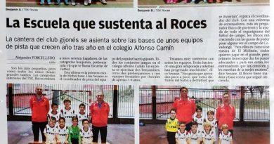 Los equipos del TSK Roces de pista salen hoy en la Nueva España.