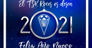 El TSK Roces os desea un Feliz 2021