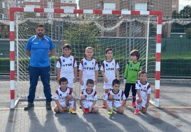 El Prebenjamin B de NSC Roces consiguió ganar su primer partido de liga