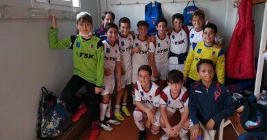 El Alevin B de NSC Roces consiguió y meritorio empate contra el Real Oviedo B